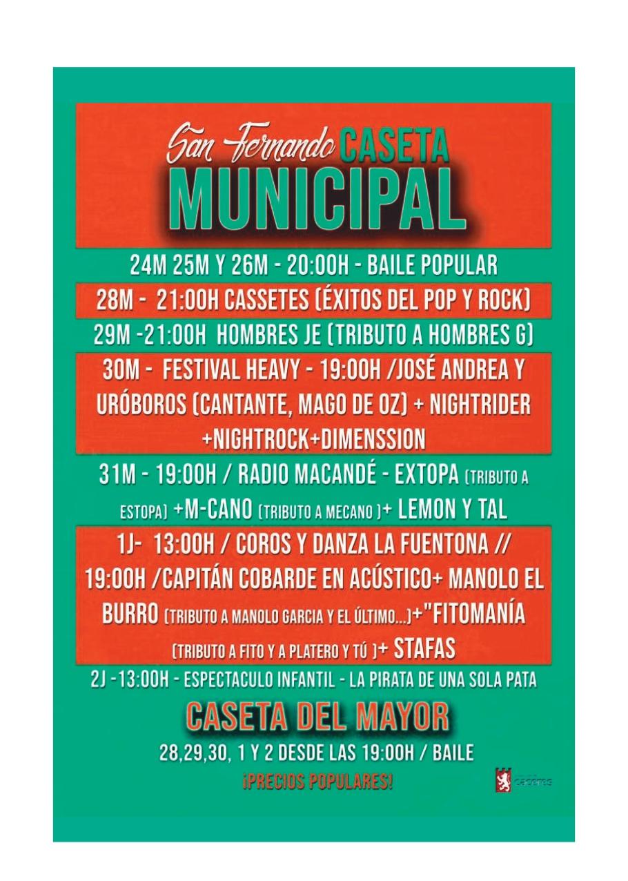 Concierto Feria de Cáceres